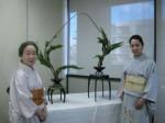 Headmistress Meikyo and daughter Reiko Ichirei Meikyo