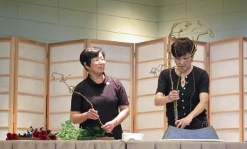 Susan Okada (left) and Dorothy Chu (right), Wafu-kai