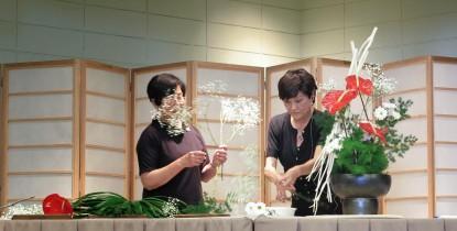 Susan Okada (left) and Dorothy Chu, Wafu-kai
