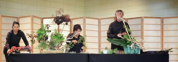 Kika Shibata and Ron Brown