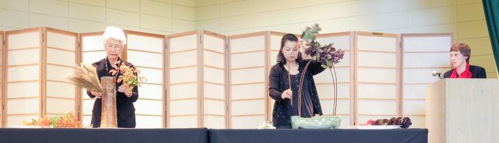 Yuki Mido and Miwako Nishi