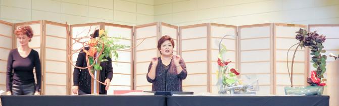 Kika Shibata (Center)