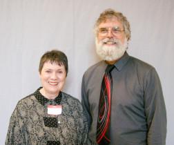 Judy Hansen and Ron Brown