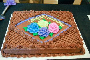 Chapter 56th Anniversary cake