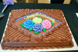 Chapter 56th Anniversary cake
