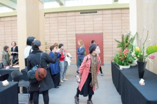 Flower Show Visitors