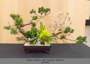 Mieko Takeda and Sandra Hatcher