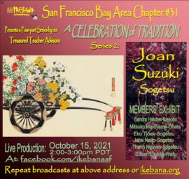 Announcement October 15, 2021 Joan Suzuko